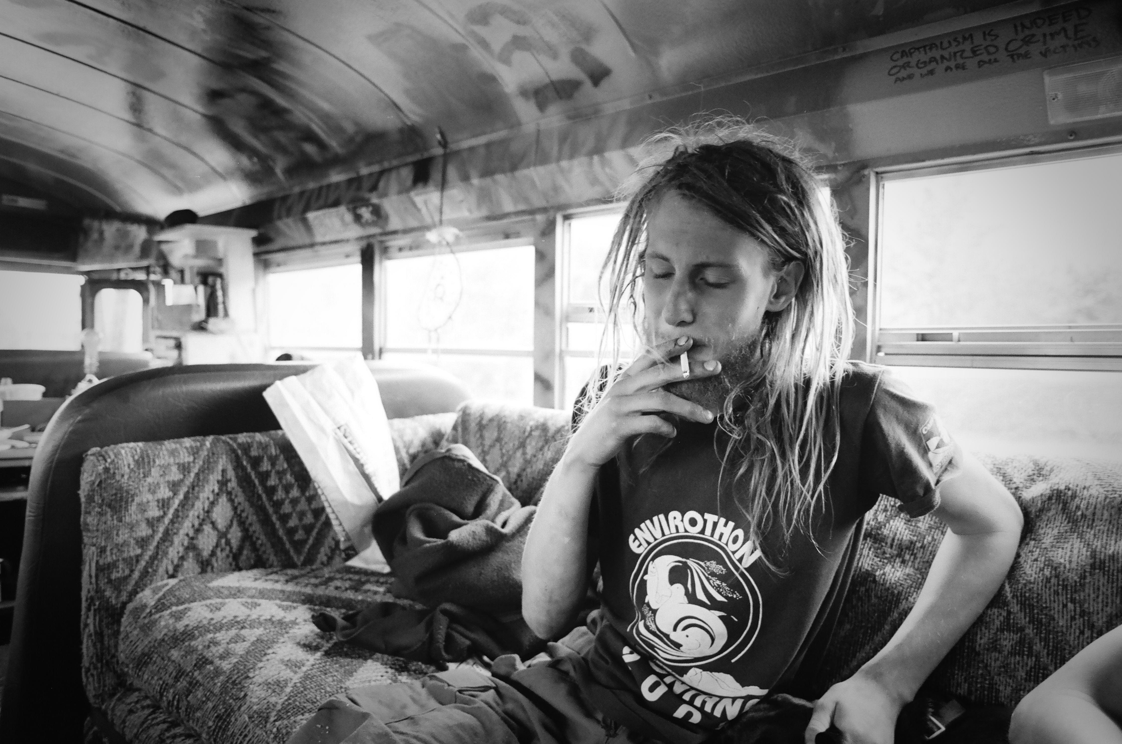 Hippies Smoking Weed 1960 The Magic Bus | Sean S...